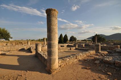 Las Ruinas de la Ciudad Romana de Pollentia