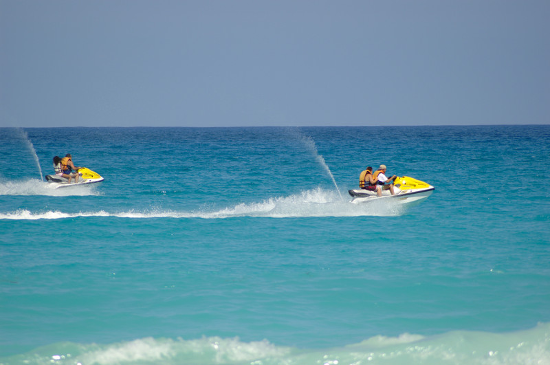 jet skiing in Majorca