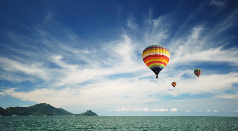 Ballooning in Majorca